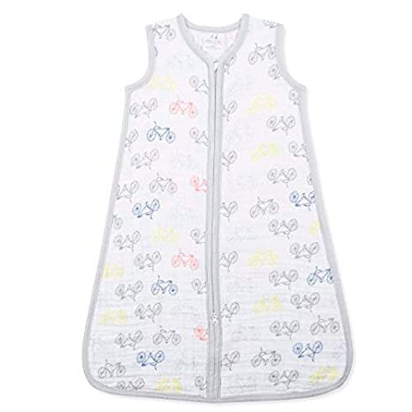 Amazon.com: aden + anais Classic Sleeping Bag; 100% Cotton Muslin; Wearable Baby Blanket; Small; 0-6 Months; Trail Blooms - Flora: Baby