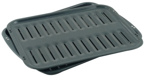 Whirlpool 4396923RW Porcelain Broiler Pan and Grid