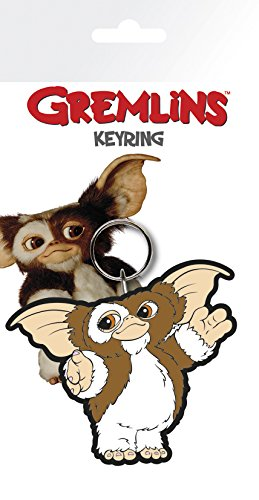 Officially Licensed Gremlins Gizmo Character Rubber Keyring KR0353