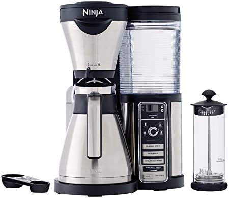 Ninja CF085REF Thermal Carafe Coffee Bar Renewed