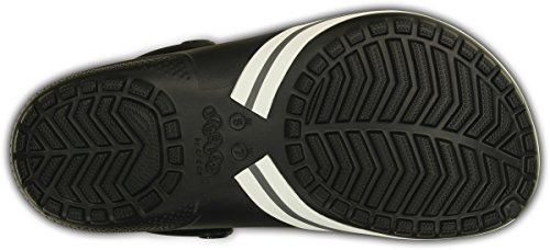 Crocs Jibbitz kilby Clog Black Relaxed Fit Unisex Mens 8/Womens 10 by Crocs (Image #5)