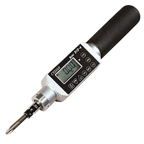 DID-4A Cedar Digital Torque Screwdriver with Memory & USB Data Output , 35 lb-in Capacity, 0.20~35.00 lbf-in Measuring Range … by Cedar