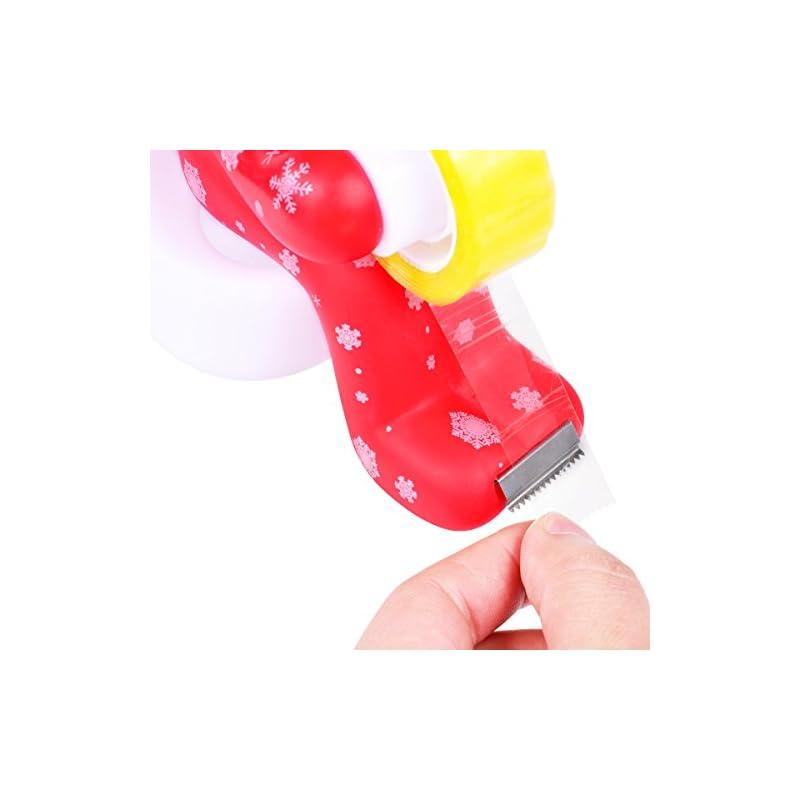 TankerStreet-Tape-Dispenser-Pen-Holder-Notepad-Paperclip-Holder-Magnetic-Novelty-Desk-Tidy-Funny-Toilet-Butt-Station-for-Desk-Accessories-Office-Home-Supplies-for-Men-Women-Dad-Friend-Red