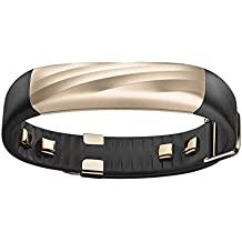 Jawbone UP3 JL04-6003ABD-US Activity Tracker Band with Heart Rate Monitoring, Sleep Tracking and Smart Coach System (Black Gold Twist)