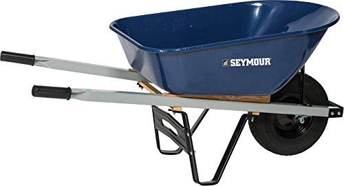 Seymour 85724 Wheelbarrow, 60 x 26.5 x 10.75'' by Seymour
