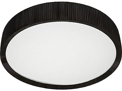 Deckenleuchte rund schwarz durchmesser 100 cm e27 glas deckenlampe