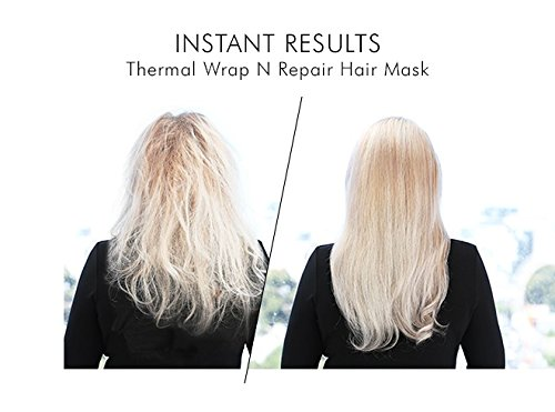 cc8d62a7298 3 X Mirenesse Thermal Wrap N Repair Hair Treatment Mask - Winner Best Hair  Innovation 2018 - Nourishes Dry, Damaged, Coloured, Curly & Thin Hair –  Coconut, ...