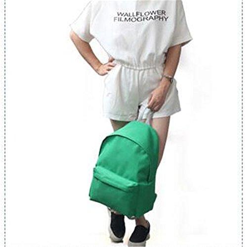 Scuola Di Semplice Personalità Caramella 30 Versione Della Coreana La Vento Per Puro Colore 40 Del Università Modo 15 Casuale Harajuku Sacchetto 41wxTtPqw