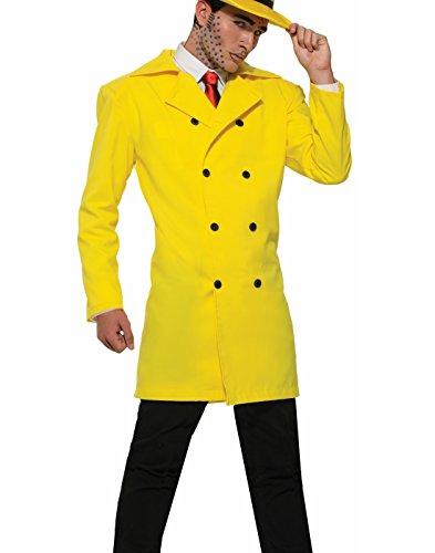 Forum Novelties Pop Art Gangster Jacket, (Pop Art Comic Man Costume)