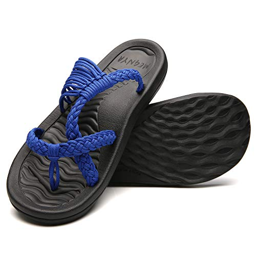 MEGNYA Women's flip Flops Sandals Arch Support Comfortable Walking Summer Water Beach Slipper 19ZDME04-W66-11