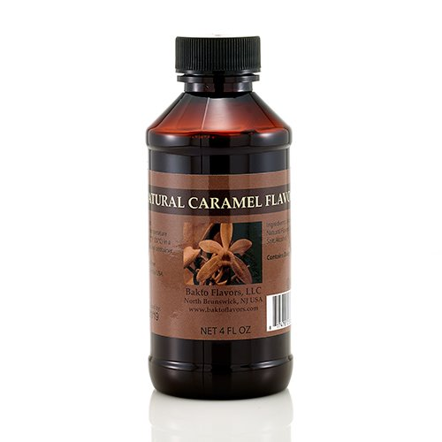 Natural Caramel Flavor - 4 OZ (Caramel Natural)