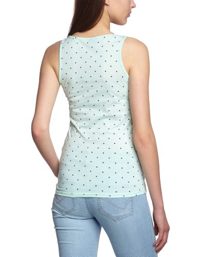 Only - Camiseta con lunares para mujer Honeydew Aop Mazarine Blue Dots