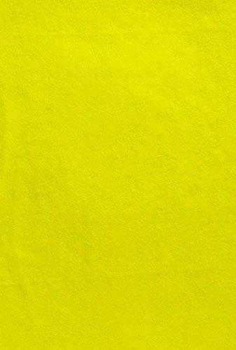 Felt (Bumblebee Yellow - PMS 3965) sticky Back, A4 sheet (8.27