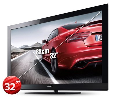 - Sony BRAVIA KLV-32BX311 32-Inch Multi System LCD TV PAL/NTSC 110-240V for Worldwide Use