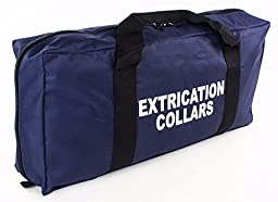 LINE2design Extrication Collar Bag EMS Collars Zippered Pockets Navy Blue