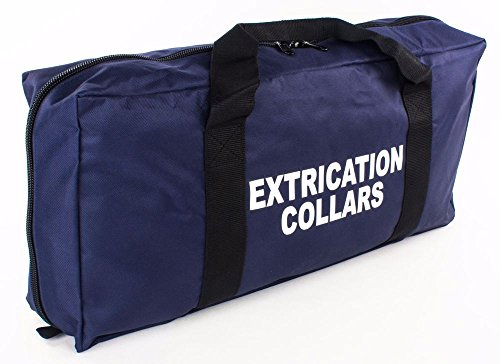 - LINE2design Extrication Collar Bag EMS Collars Zippered Pockets Navy Blue