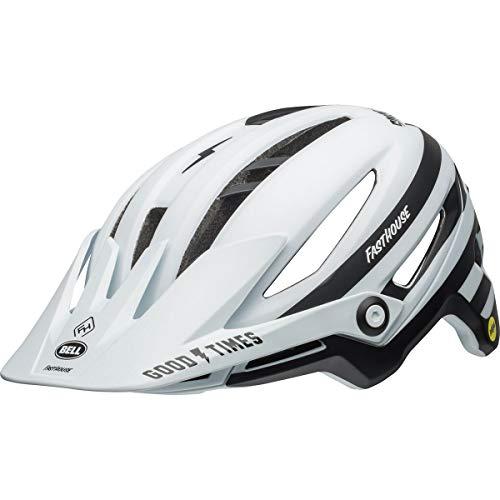 Stripe Matte (Bell Sixer MIPS Bike Helmet - Fasthouse Stripes Matte White/Black Medium)