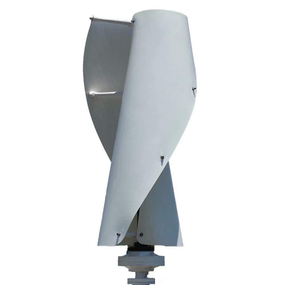FLYT Turbina Eólica 400W 24V Aerogenerador vertical Pequeño Generador de Viento de Uso Doméstico, Molino de Viento de 2 Palas