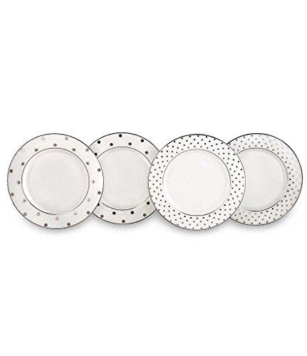 kate spade new york Larabee Road Platinum Tidbit Plate Set - 4 ct  sc 1 st  Plate Dish. & Kate Spade Appetizer Plates. Kate Spade New York To Market ...