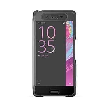 1301-7697 Sony-Carcasa para Sony Xperia X rendimiento, color negro
