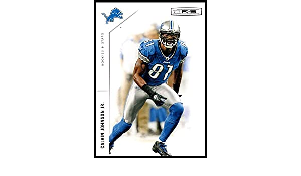 69941cc9 Amazon.com: 2011 Panini Rookies and Stars #49 Calvin Johnson Jr. NM ...