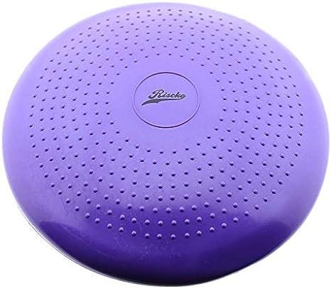 Disco de Equilibrio masajeador Coj/ín de Equilibrio Balance Disc con Bomba de inflado