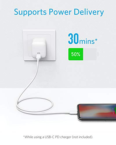iPhone 11 Charger, Anker USB C to Lightning Cable [3ft Apple MFi Certified] Powerline II for iPhone 11/11 Pro / 11 Pro Max/X/XS/XR/XS Max / 8/8 Plus, Supports Power Delivery