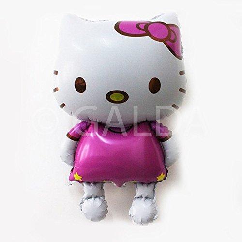 Hello Kitty Globo gigante XXL para cumpleaños y fiestas preparado para helio o aire. 110x65 cm.: Amazon.es: Juguetes y juegos