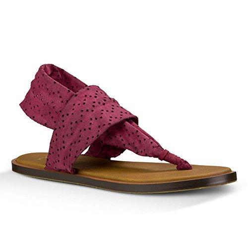 Polveroso Flip 2 Fionda Boysenberry Rouge flop Yoga Sanuk Delle Donne vSBxZTqwA
