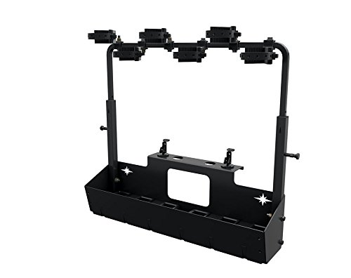 RANGER LOCK & RIDE 6 GUN RACK HOLDER MOUNT 1000 900 570 CREW DIESEL