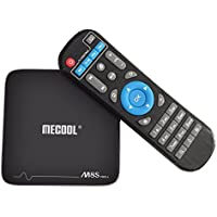 MECOOL M8S Pro+ TV Box 4K Smart TV Box S905X 64bit Quad Core CPU 2GB RAM 16GB ROM with Newest Android 7.1 System Built-in WIFI Ethernet