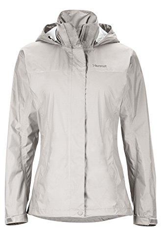 Marmot PreCip Women's Lightweight Waterproof Rain Jacket, Lithium, Medium