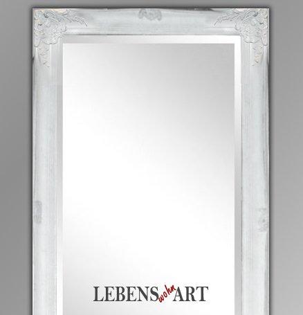 WANDSPIEGEL Aradis 160x60cm SPIEGEL 004 6W BAROCK ANTIK DESIGN Weiß/Silberschleier:  Amazon.de: Küche U0026 Haushalt