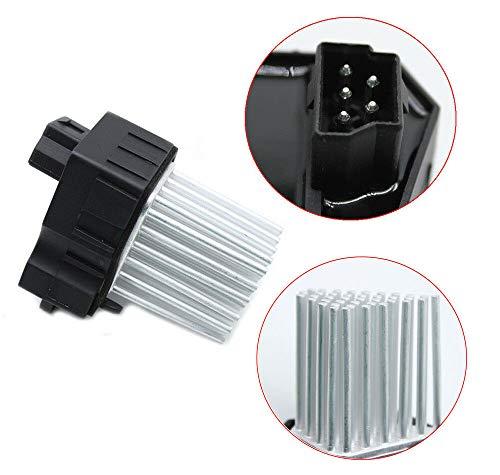 Heater Motor Fan Blower Resistor Blower Motor Fan Resistors Car Control Heater Module Blower Motor Resistor for B MW 3 Series: