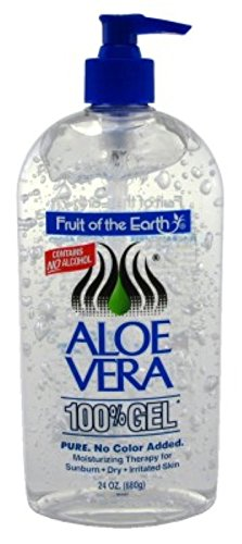 Price comparison product image Fruit Of The Earth Aloe Vera 24oz Gel Pump (2 pack)