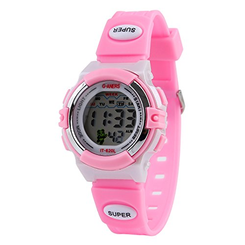 Price comparison product image Kids Sport Digital Watch Boys Outdoor Waterproof Watches Girls Electronic Kids Watch