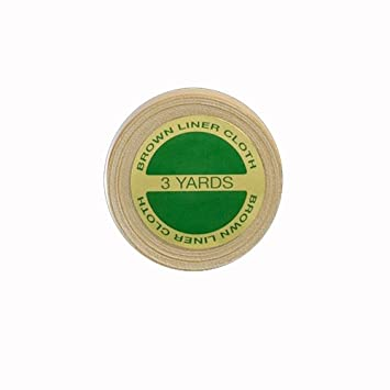Walker Hair Replacement TapeGerman Brown Liner Cloth 1quot