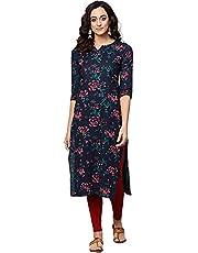 Vaamsi Women's VCK1066 A-Line Cloth/Fabric Kurta