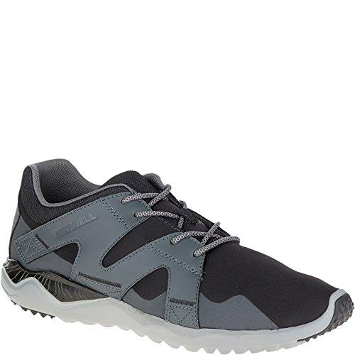 Merrell Men's 1SIX8 Lace Shoe, Black/Black, 8.5 M US 8h Black Nylon