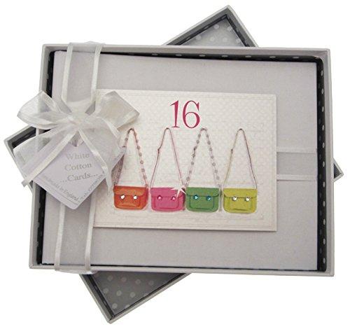 Pictures Birthday Cards - white cotton cards Birthday Photo Album (16th Birthday)