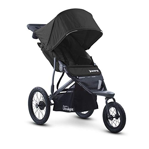 - Joovy Zoom 360 Ultralight Jogging Stroller, Black