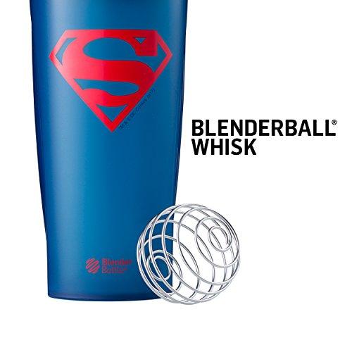 BlenderBottle Justice League Superhero Classic 28-Ounce Shaker Bottle, Batman