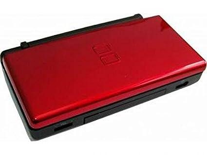 Carcasa roja / negra para Nintendo DS Lite: Amazon.es ...