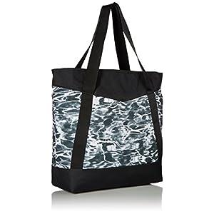 adidas Squad III Tote Bag, One Size, Ponder/Black/Shock Purple/Shock Pink/White
