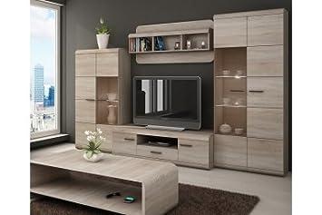 Living Room Furniture Set Lucano Tv Unit Amazon Co Uk Kitchen Home