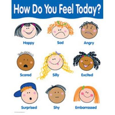 5698 Creative Teaching Press How Do You Feel Today Basic Skills Chart