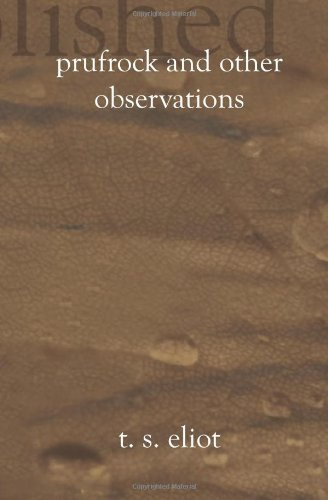 Prufrock and Other Observations PDF