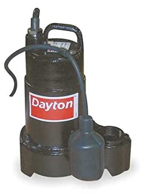 Dayton 4HU74 Pump, Effluent, 1/2 HP