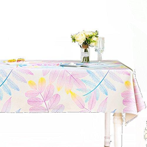 C 220140CM Moderne Minimaliste Coton Lin Linge de Table épaisse rectangulaire Table Basse Tissu Bureau Nappe Restaurant Rond Nappe Art (Couleur   C, Taille   220  140CM)