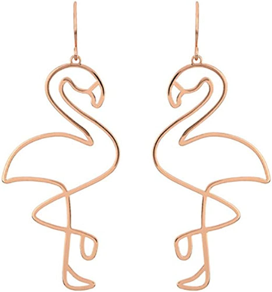 Gold Plated Pink Flamingo...